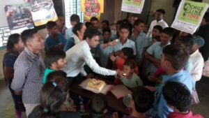children day celebration with children  home's children