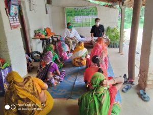 distribution Sanjivani project.